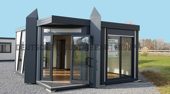 deutsche industriebau group pavillons ihr profi f r modulbau hallenbau b rocontainer. Black Bedroom Furniture Sets. Home Design Ideas