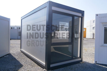 deutsche industriebau group b rocontainer einzelcontainer container classic gebraucht 12m. Black Bedroom Furniture Sets. Home Design Ideas