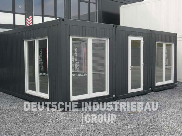 deutsche industriebau group b rocontaineranlage neu containeranlage b rocontainer 45m neu. Black Bedroom Furniture Sets. Home Design Ideas