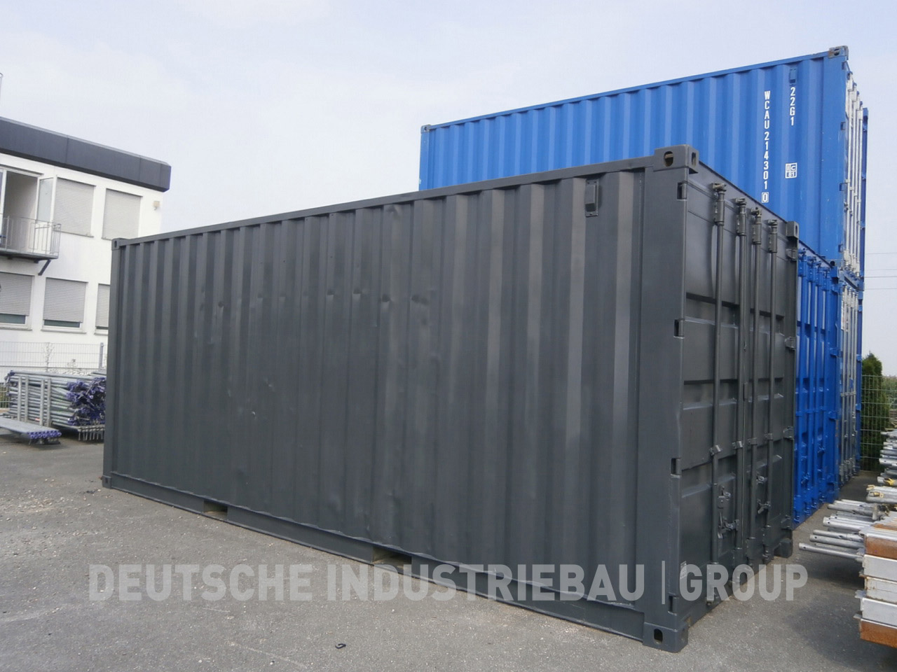 deutsche industriebau group seecontainer 20 fu ab lager. Black Bedroom Furniture Sets. Home Design Ideas