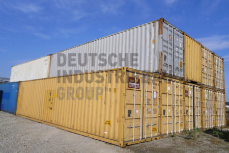 deutsche industriebau group seecontainer 40 fu hc lagercontainer lagerraum 30 m gebraucht. Black Bedroom Furniture Sets. Home Design Ideas
